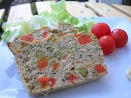 recette de pate au thon recette terrine de thon aux légumes 750g