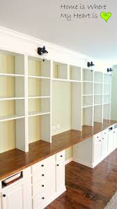 Ikea Desk With Hutch by 121 Best Bookcases And Built In Desks Images On Pinterest Office