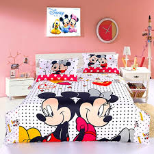 Minnie Mouse Twin Bedding by Mickey Mouse Bathroom Set Realie Org