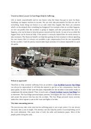 Truck Accident Lawyer In San Diego Help In Suffering