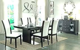 Dining Room Chair Covers Ikea Decorating Ideas 2018 Lighting Perfect Black Formal Sets Me Within Modern