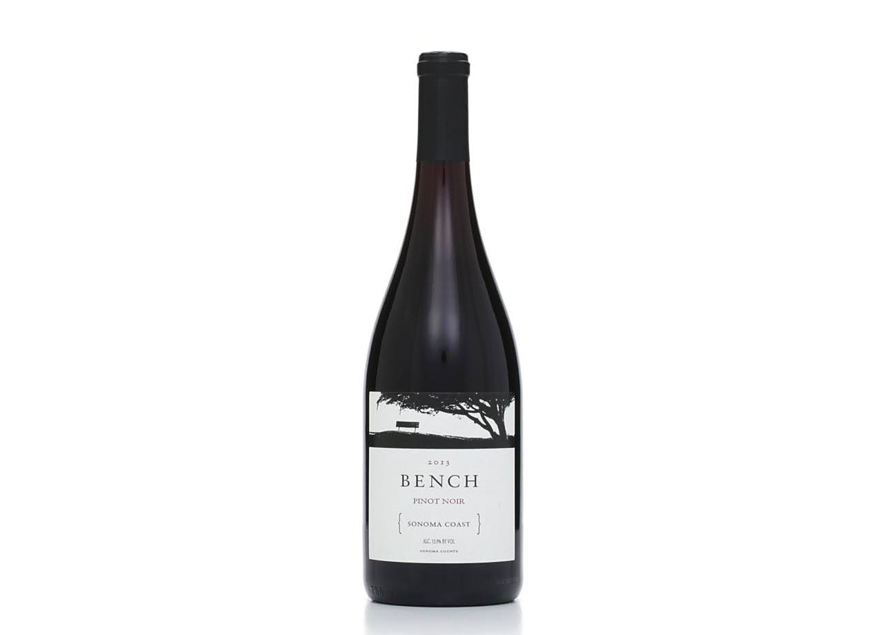 Bench Sonoma Coast Pinot Noir 2014 Red Wine from California - 750ml
