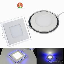 X10 Lamp Module Led by X10 Blue Light 10w 15w 20w Acrylic Led Recessed Down Light Panel
