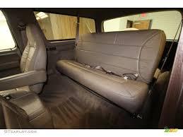 Beige Interior 1993 Ford Bronco Ed Bauer 4x4