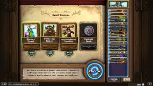 Hearthstone Decks Druid Combo by Combo Druid Nerf The End Of Force Of Nature Card Discussion