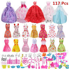 Amazoncom HOMES1barbie Clothes Doll Clothes Beautiful Wedding