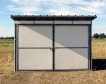 Loafing Shed Kits Texas by Noble Panels Horse Shelters And Loafing Sheds
