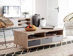 newroom couchtisch conni eiche hirnholz grau wohnzimmertisch modern vintage landhausstil sofatisch wohnzimmer kaufen otto