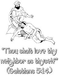Thou Shalt Love They Neighbor As Thyself Galatians 514
