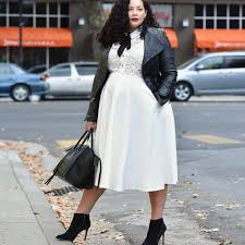 Top 10 Outfits Of 2017 Via GirlWithCurves Style Fashion Curvy