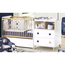 chambre evolutive sauthon sauthon oslo lit chambre transformable 120x60 poignee etoile babykid