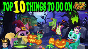 Things To Do On Halloween by Top 10 Favorite Things To Do On Animal Jam Youtube