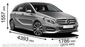 dimensions des voitures mercedes longueur x largeur x hauteur