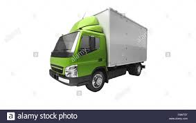100 Truck Courier 3d Courier Service Delivery Truck Isolated On White Stock Photo