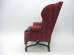 baratta tartan wing chair