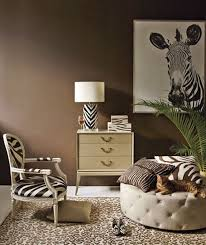 Cheetah Print Living Room Decor by 24 Ways To Go Wild With Animal Print Decor Brit Co
