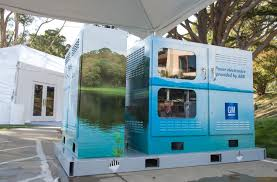 100 Storage Unit Houses GM ABB Demonstrate Chevrolet Volt Battery Reuse