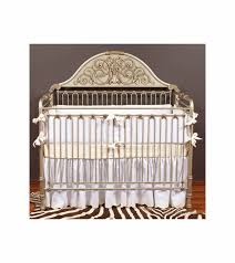 Bratt Decor Crib Skirt by Bratt Décor Chelsea Collection Iron Lifetime Crib Antique Silver