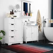 badausstattung homfa 50x60cm wandspiegel badspiegel mit