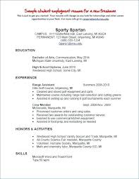Resume Education Section In Degree Incomplete Graduate On