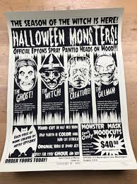Clarendon Halloween Bar Crawl 2017 by Halloween Monsters 2017 Epyon5 Poster C2e2 Release Chicago