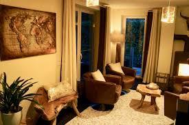 wohnzimmer rustikal und gemütlich rustikal wohnbereich