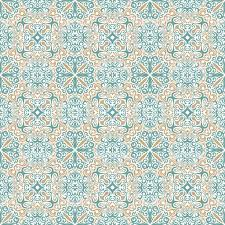 Vintage Floral Background In Pastel Color Royalty Free Seamless Islam Pattern