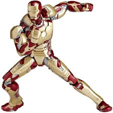 SCI FI Revoltech Series No049 Iron Man Mark 42 Re Run