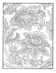 Calm StressManagement AdultColouring ColouringPage Colouring Flowers Floral Paisley Coloring PagesColoring BooksAdult