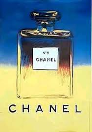 I Recently Came Across This Chanel Poster Advertising No 5 Perfume When Examining The Couldnt Help But Notice How Simple Design Was