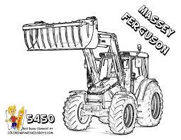 115 Dessins De Coloriage Tracteur à Imprimer