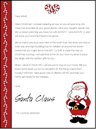Father Christmas Letter Template Uk New Secret Santa Email