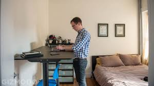 Ikea Desk Tops Uk by Ikea Sit Stand Desk Review I Can U0027t Believe How Much I Like This