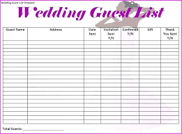 Wedding Checklist Template Excel Best Printable Ideas On Planning List Timeline