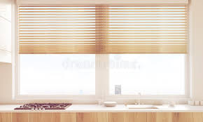 Download Close Up Of Sunlit Kitchen Table Top Stock Illustration