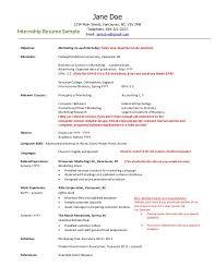 Employment Resume Sample 2