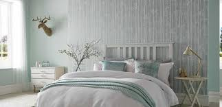 Beauteous Duck Egg Bedroom Ideas Also Adorable Forest Pattern