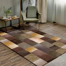 amerikanischen luxus gelb braun grün tür matte geometrische muster splice teppich wohnzimmer tür matte nach maß schlafzimmer plüsch teppich