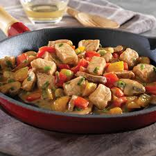 cuisiner un sauté de porc de porc et légumes avec thermomix