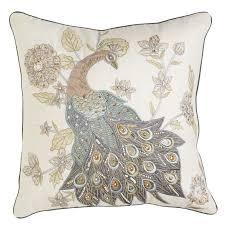 glacier bay royal peacock pillow pier 1 imports