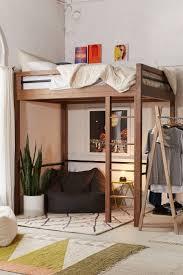 Queen Loft Bed Plans by Best 25 Small Loft Bedroom Ideas On Pinterest Mezzanine Bedroom