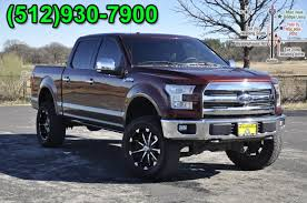 PRE-OWNED 2015 FORD F-150 KING RANCH WITH NAVIGATION & 4WD