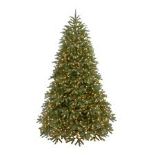 9 Ft Feel Real Jersey Frasier Fir Medium Hinged Artificial Christmas