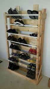 MY FREE SHOE RACK Old Wood Palletthe More Beat Up The Better For This Chick