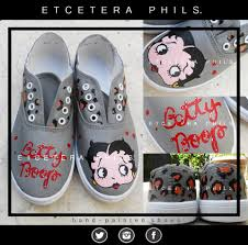 Betty Boop Bath Set by Customized Betty Boop Shoes Fashion Pinterest Betty Boop