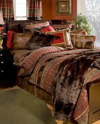 Rustic Bedding Cabin Lodge Sets
