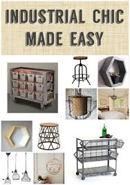 Industrial Chic Made Easy
