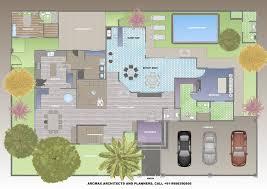 100 Villa Plans And Designs 4BHK Luxury Design Floor Type1 Arcmax Architects