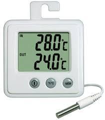 thermometre maxima minima exterieur thermomètre int ext hygromètre petits matériels divers
