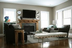 Awkward Living Room Layout With Fireplace by Living Room Furniture Placement Family Room Furniture Living